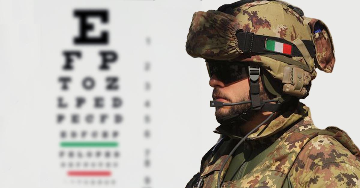 Visus Concorsi Esercito: ecco quali sono i parametri della vista necessari per l'arruolamento